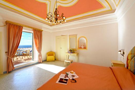 Camera elegante Hotel a Praiano