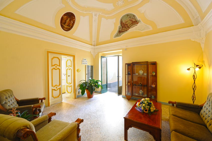 Panoramica interna albergo Torre Saracena